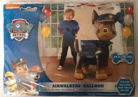Globo paw patrol el que camina inflado con helio!!