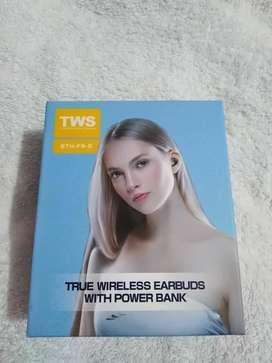 AUDIFONOS F9 BLUETOOTH TACTIL CON POWER BANK PARA CARGAR CELULAR USO COMO POWERBANK PARA CARGAR CELULAR