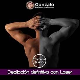 DEPILACION DE ESPALDA CON LASER PARA HOMBRES - DEPILACIONLASERMASCULINA