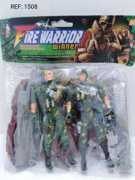 paquete soldados+acesorios