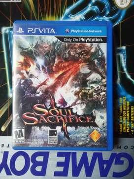 Soul sacrifice (psvita)