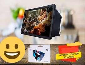 Amplificador de pantalla para celular perfectamente compatible  todos los teléfonos smartphone de todas las marcas