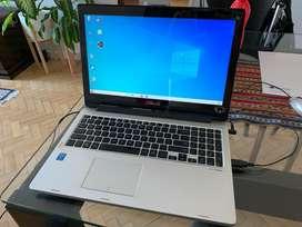 Notebook Asus 360 convertible IMPECABLE i3 6GB pantalla táctil batería