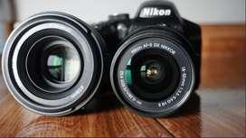 Camara Nikon D3200 Lente 18-55 Original + Yongnuo 50mm, F1.8