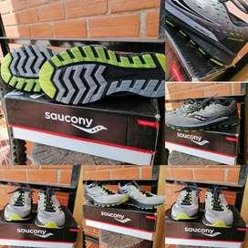 Tenis Saucony Como Nuevas Originales Con Caja