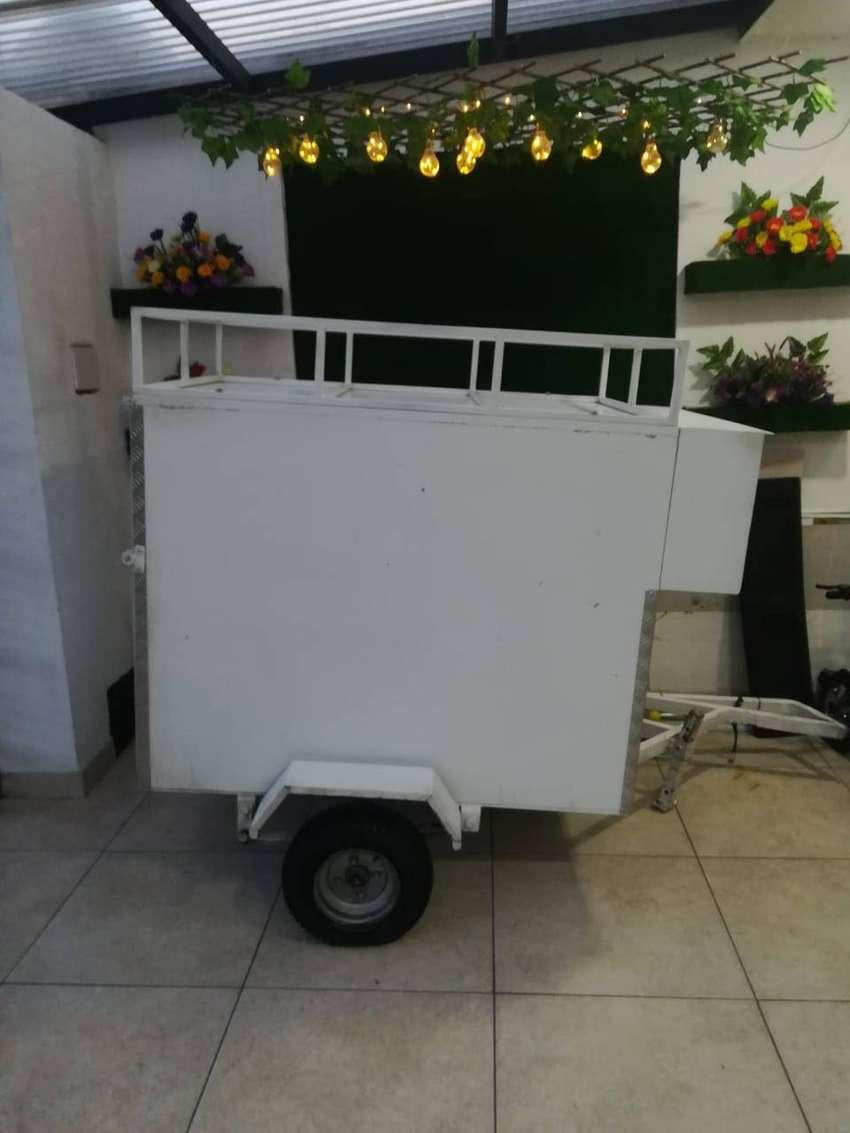 GANGA Vendo Moderno Remolque 0