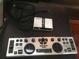 Controlador bandeja DJ2go + Placa de audio Encore 7.1
