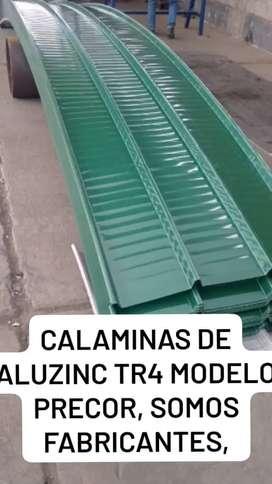 CALAMINON DE ALUZINC TR4 MODELO PRECOR