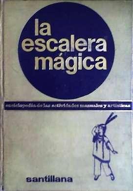 LA ESCALERA MAGICA – SANTILLANA ENCICLOPEDIA DE LAS ACTIVIDADES MANUALES Y ARTISTICAS AUDIOMAX