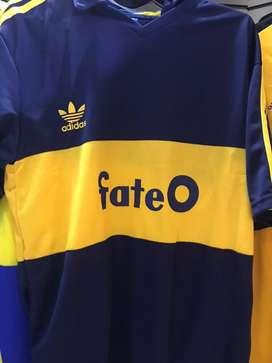 Camiseta fate boca jrs retro