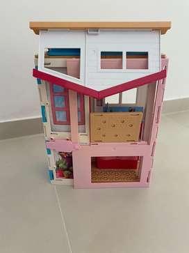 Casa de la Barbie portatil