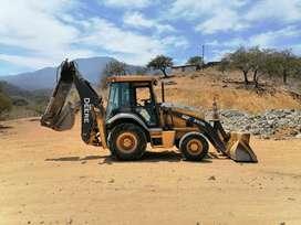 Retro excavadora John Deere 310SL