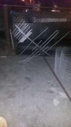 Antena de techo VHF y uhf en perfecto estado
