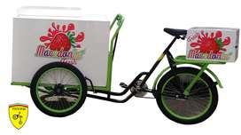 Triciclo para venta de frutas y comidas