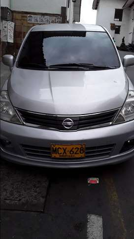 NISSAN TIIDA HATCH BACK BLINDADO