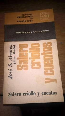Salero Criollo y Cuentos