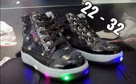 Botas de luz