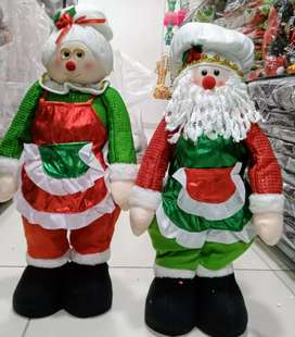 Muñecos navideños decorativos