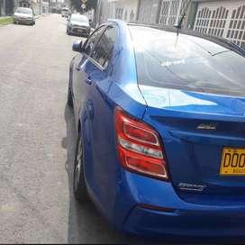 En venta Chevrolet Sonic LT Full equipo sedan