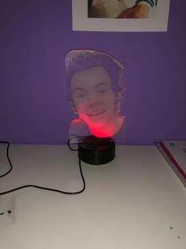 Lampara led con imagen de Harry Styles nueva