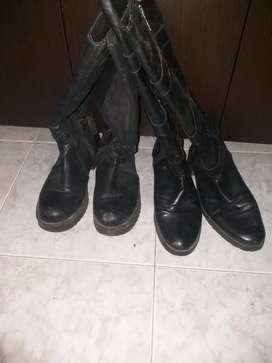 2 pares de botas talla37