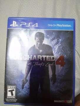 Uncharted 4 como nuevo
