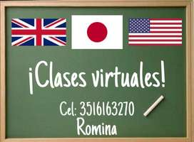 Clases de Japonés/Inglés