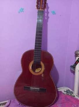 Guitarra color cafe