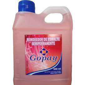 Removedor semipermanente, Gopay, 500ml