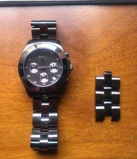 Reloj Marc Jacobs Para Mujer Mbm3121 Tablero Color Rosa
