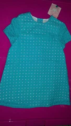 Vestido Nuevo Marca Epk Talla 12 Meses