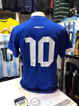 Camiseta independiente azul nro 10 edic limitada