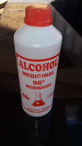 EN VENTA ALCOHOL PURO 96°
