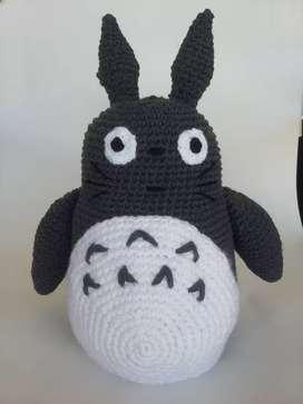 Totoro amigurumi XL crochet ideal para regalo de navidad