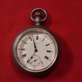 Antiguo Reloj De Bolsillo Longines Open Face 1919