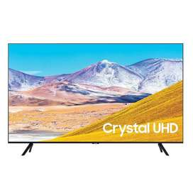 "Televisor Samsung Crystal 50"" Smart TV 4k 50TU8000 – Negro Electrodomesticos Jared"