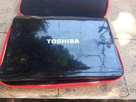 Vendo notebooks Toshiba
