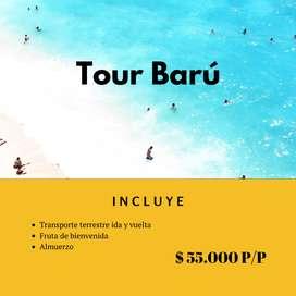 Tour Playa Blanca Barú y Playa Tranquila