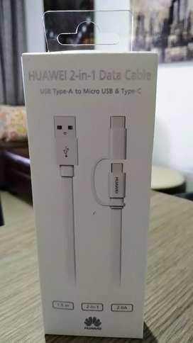 Cable Huawei 2 en 1 Original