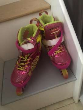 Patines con luces