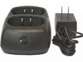Cargador doble Radio Motorola