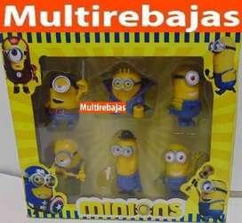 Hermosa Colección Minions