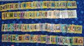 Cartas/baraja de Yugioh (Incluye 202 cartas, de las cuales muchas raras como Exodia)