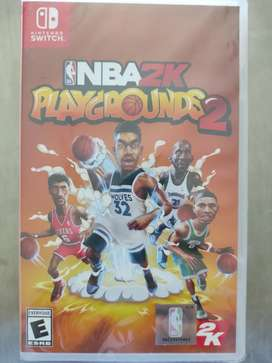Videojuego Nba 2K Playgorunds 2 Nintendo Switch