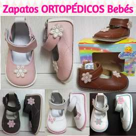 Zapatos ORTOPEDICOS para BEBES Niñas