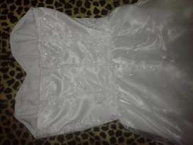 vestido de novia, como nuevo