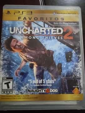 Uncharted 2 edición favoritos lo dejo en 40000