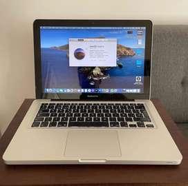 Macbook Pro Mid 2012, 13,3, 8gb, 500 Gb Os Catalina