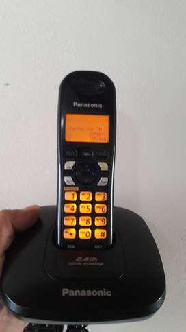 Panasonic con identificador y altavoz