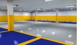 Pintura para piso epoxica 2 componentes